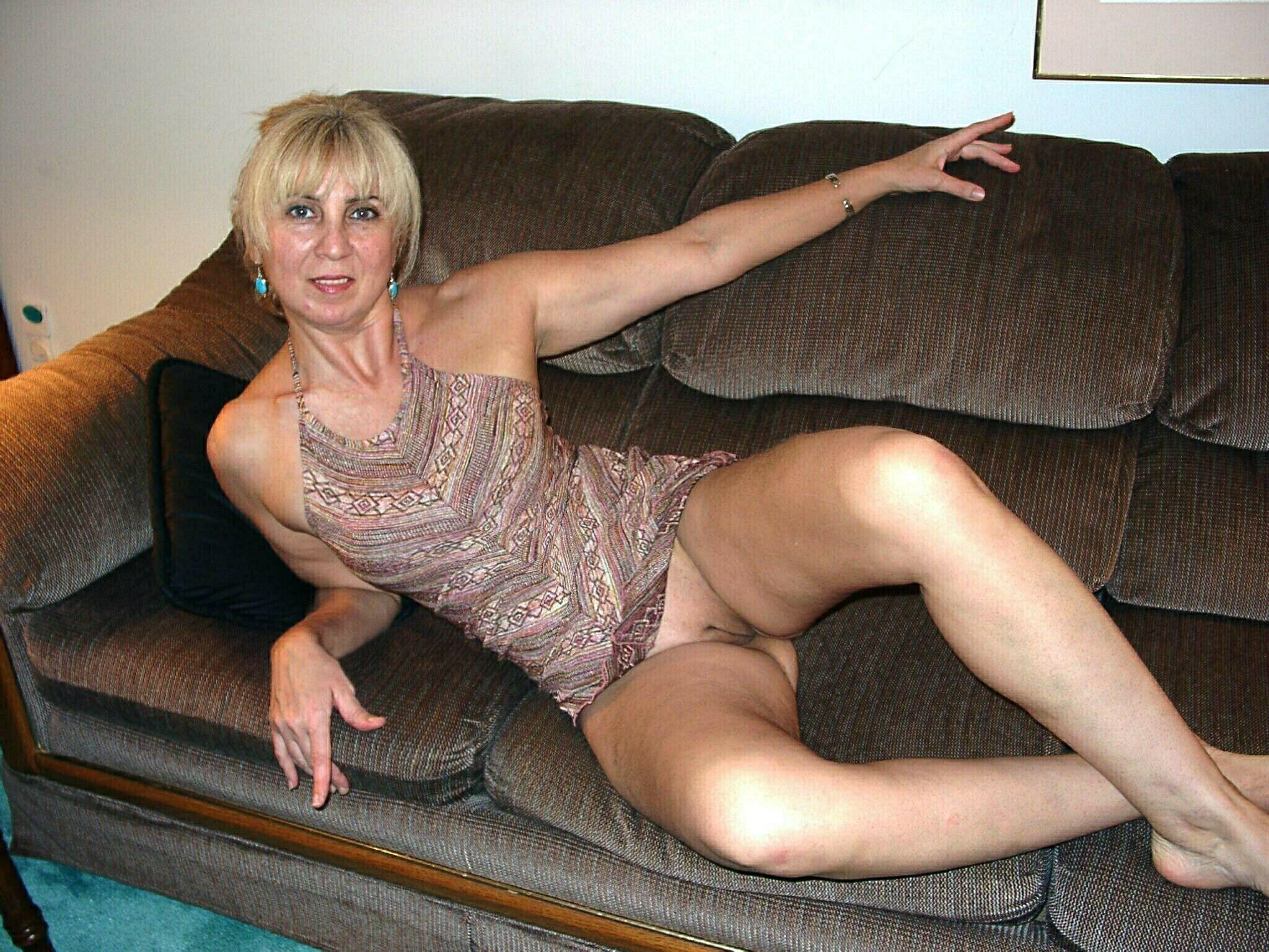 Секси зрелая