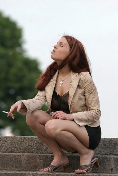 Курящие женщины - подборка 000