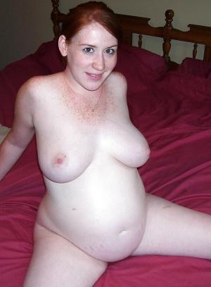 Порно слегка беременными
