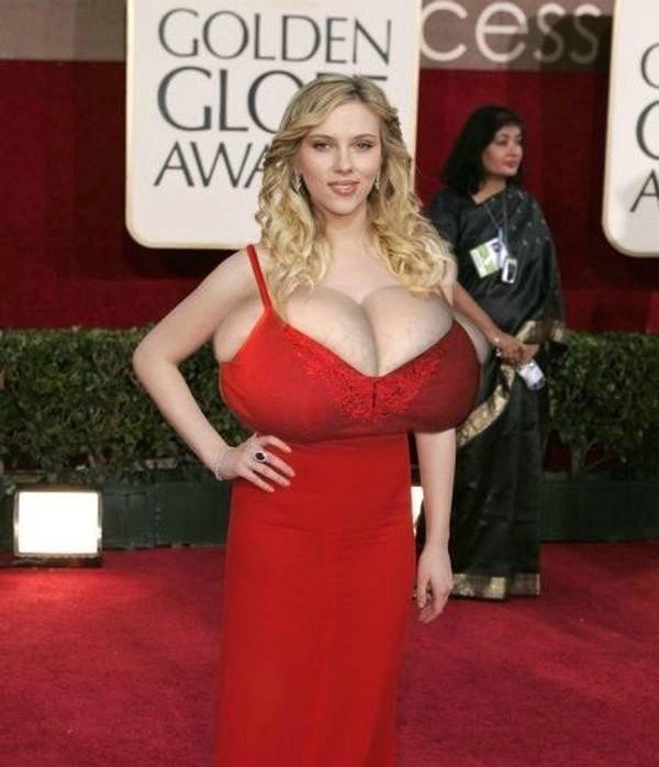Scarlett Johansson - В ванной - Порно галерея № 3224744