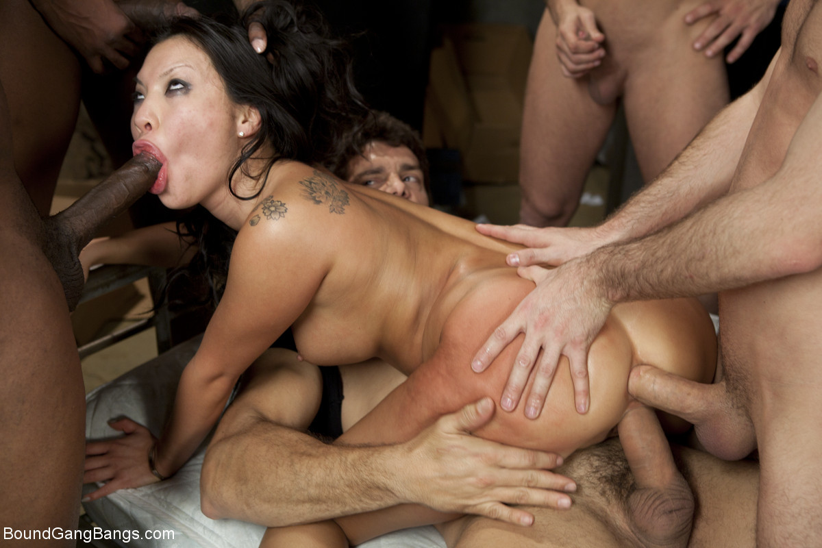 Asa Akira, Rico Strong, Jon Jon, James Deen, Ramon Nomar, Mr Pete - Азиатки - Галерея № 3490387