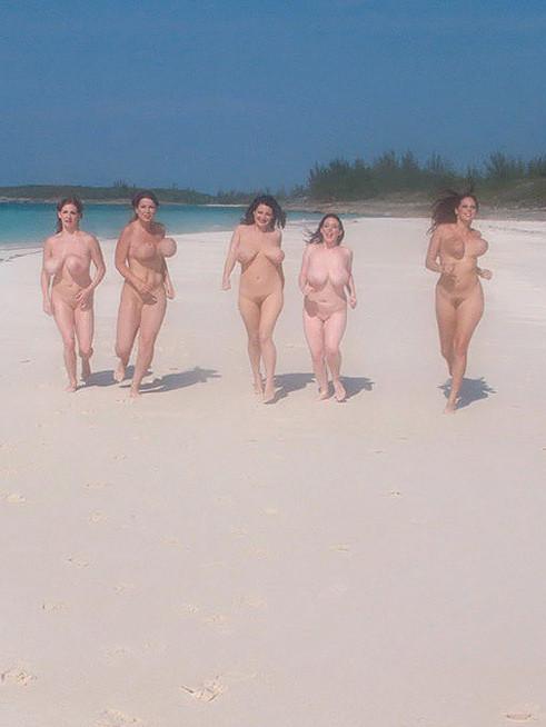 Terry Nova, Gianna Rossi, Angela White, Christy Marks, Lorna Morgan - На пляже - Порно галерея № 3483279