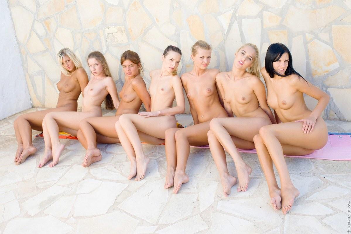 Sasha Blonde, Ivana Fukalot, Amanda Monroe, Mia, Alice Wonderbang, Vika Nymph, Natasha Shy - Бикини - Галерея № 3554359