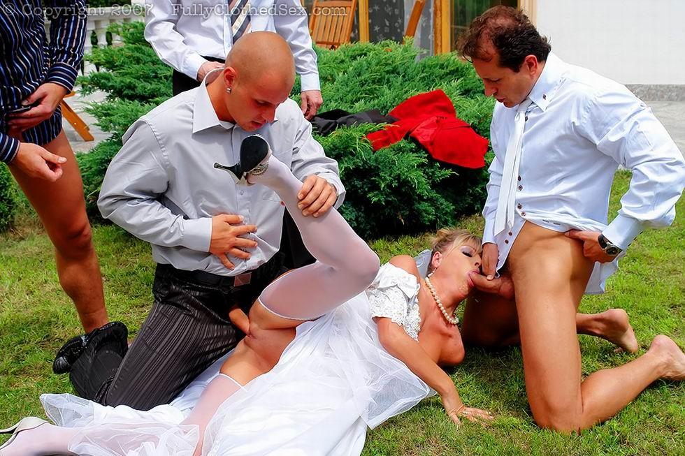 Трахают невесту на свадьбе скачать через торрент
