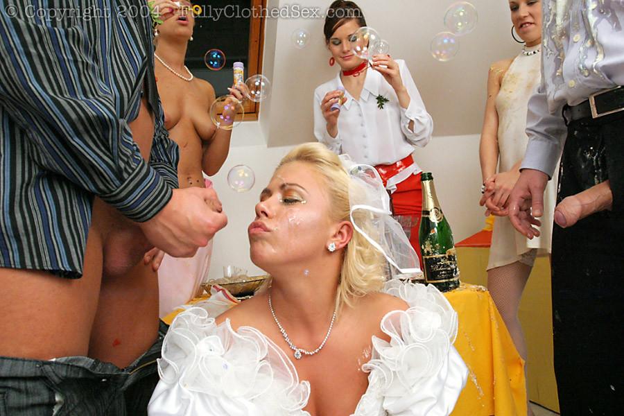 гостями невесты с секс видео