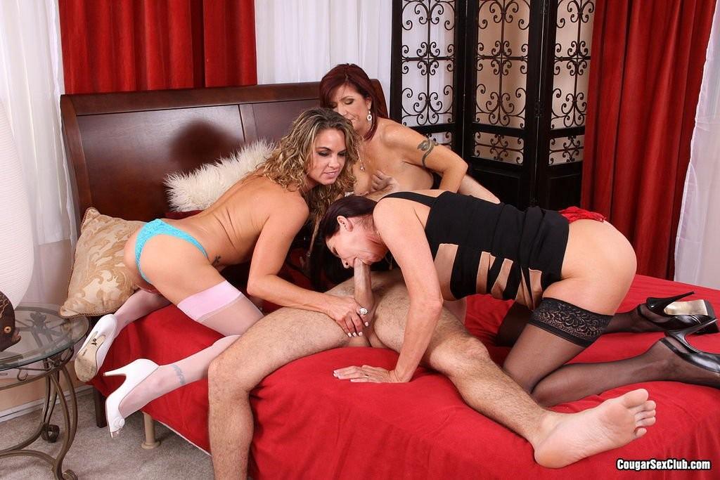 Magdalena St Michaels, Brittany Blaze, Amanda Blow - Вчетвером - Галерея № 3423104