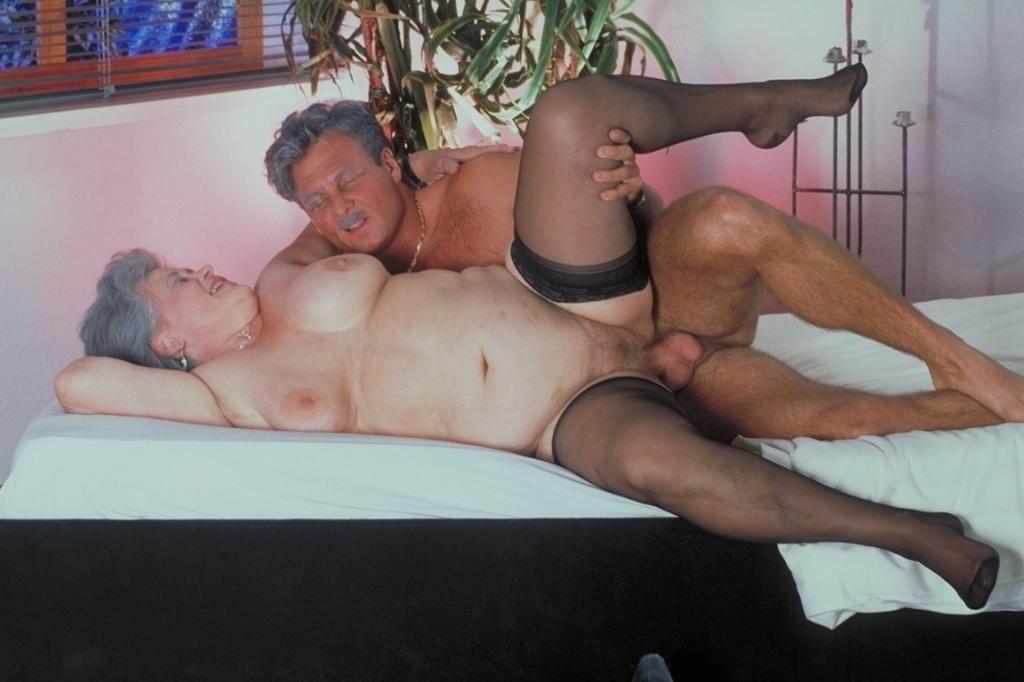 Ретро порно пожилых людей
