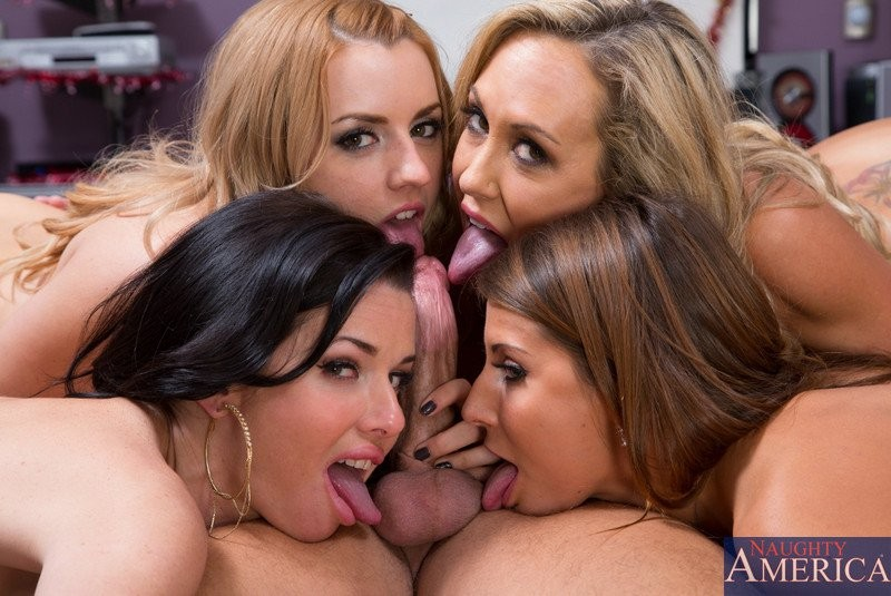 Brandi Love, Lexi Belle, Veronica Avluv, Ivy Madison - Вчетвером - Галерея № 3376778