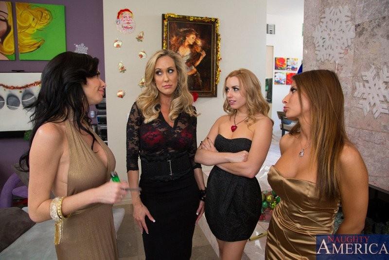 Brandi Love, Lexi Belle, Veronica Avluv, Ivy Madison - Вчетвером - Порно галерея № 3376778