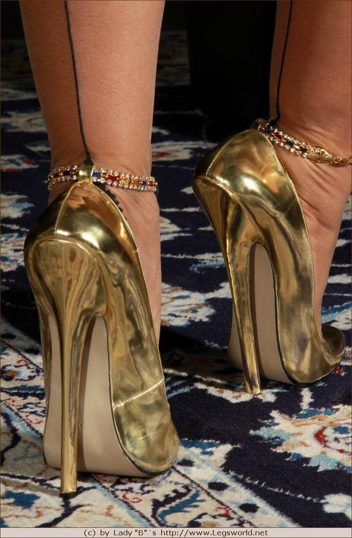 Heels high lady barbara