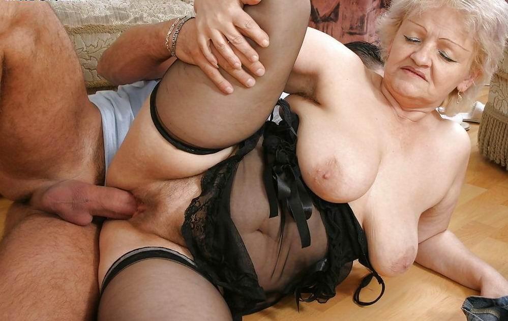 Ебля с пожилой женщиной