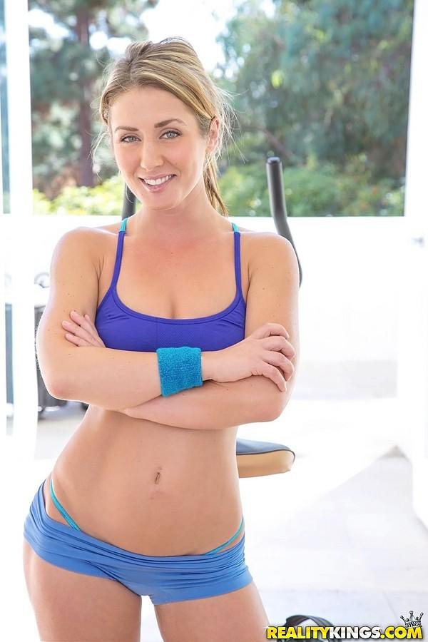 Sheena Shaw - В спортзале - Галерея № 3297941