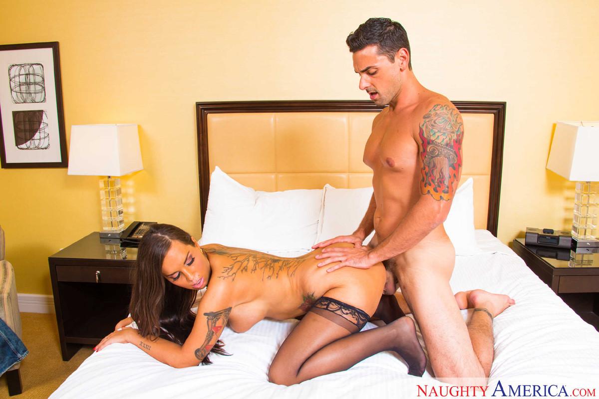 Порно клиент в отеле