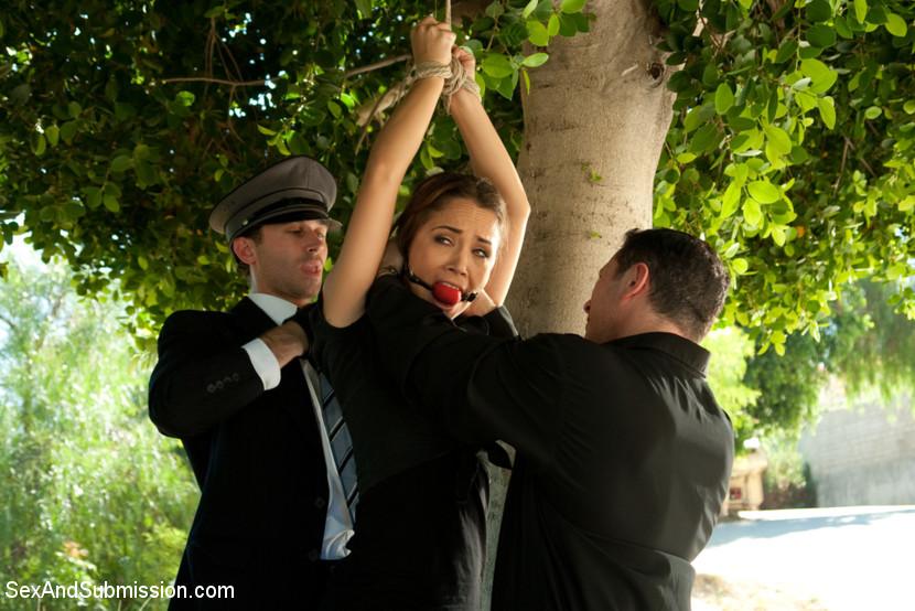 Kristina Rose, James Deen, John Strong, Lizzy London - Горничные - Порно галерея № 3355787