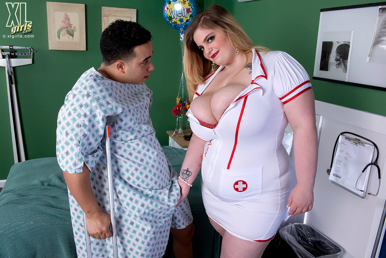 Sashaa Juggs - Медсестра - Галерея № 3408710