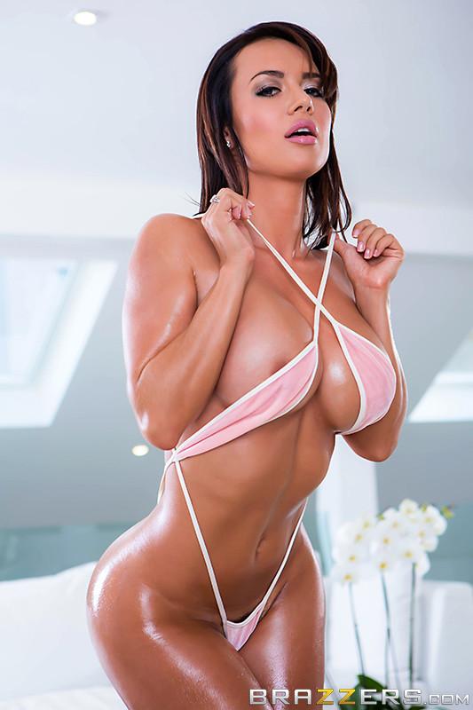 Franceska jaimes в масле порно