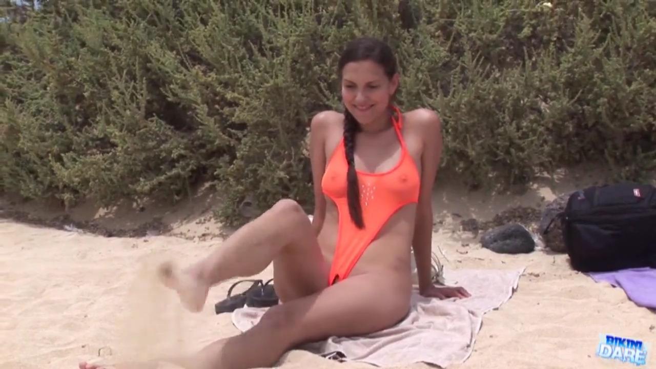 Секс в розовом бикини видео