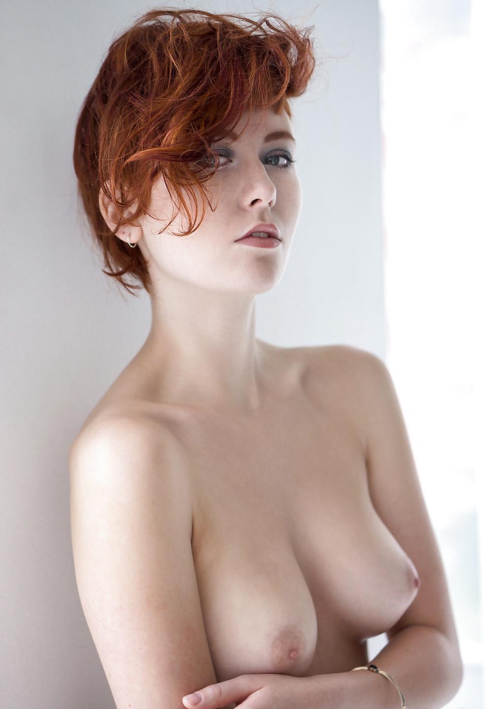 Женщины с короткими волосами - подборка 007