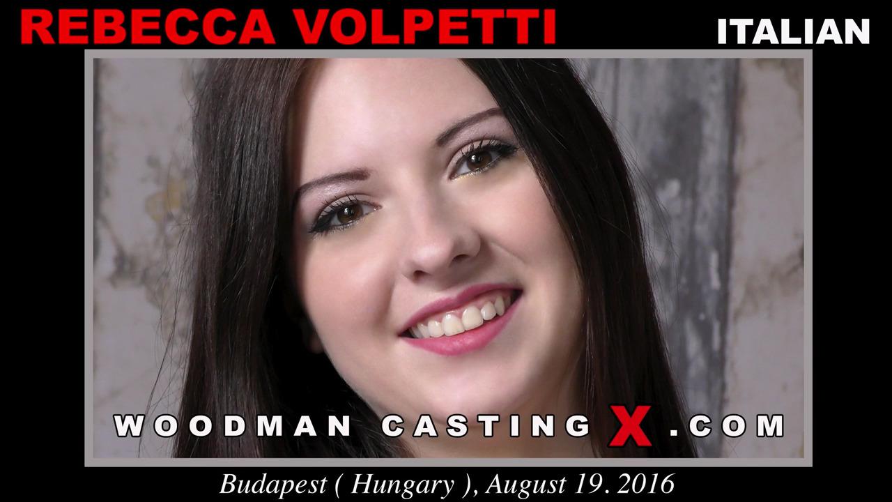 Трах на кастинге Rebecca Volpetti